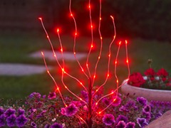 Anywhere LED Branch Light, Red