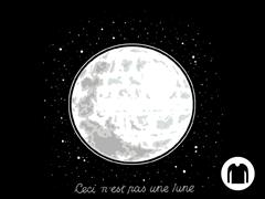 That's No Moon Long-Sleeve Tee