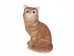 Carr Cat Sitting Up Statue