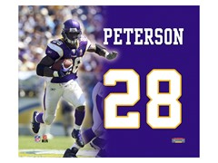 "Adrian Peterson 8"" x 10"""