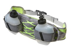 Nike 2 Bottle Waistpack -  Silver/Volt