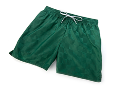 Solid Green Youth Shorts
