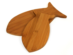 TruBamboo 2pc Fish Board Set
