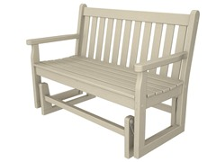 Traditional Garden Glider Benches