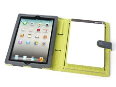Booqpad for iPad 2/3/4 - Gray/Green