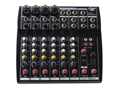 Professional 8-Channel Audio Mixer