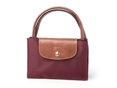 Longchamp Le Pliage Handbag, Red