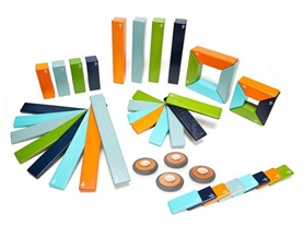 Tegu Magnetic Wooden Blocks 44 Pc Set