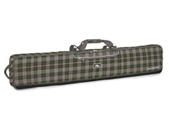 Double Coffin-Style Bag - Green/Gray