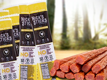 Nick's Sticks Chicken 25 Pack