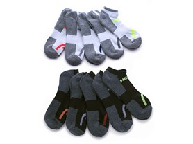 HEAD Moisture-Wicking Socks, 10 Pair