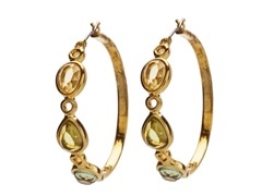 Relic RJ1654710 Gold Hoop Earrings