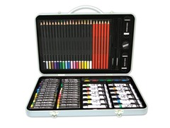 ART 101 79-Pc Art Set with Metal Case