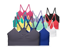 FILA Seamless Camisole Bra, 10 Colors