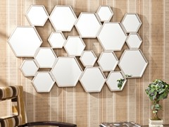 Eschia Honeycomb Mirror