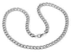 Stainless Steel Cuban Necklace