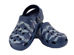 Blue Aviation WIngs Clog