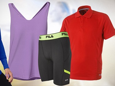 Fila Men's and Women's Apparel