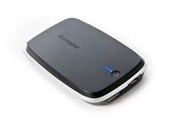 Polo 5000 mAh Mobile Power Bank - Black