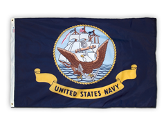 Navy 3' x 5' Nylon Flag