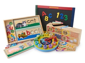 Melissa & Doug Skill Builders Educational Bundle