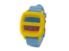 Remix Yellow & Blue Digital Watch