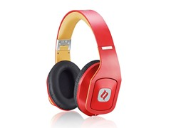 Hammo Over-Ear Hi-Fi Headphones - Red
