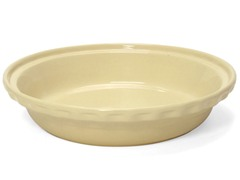 "Chantal 9 1/2"" Diameter Deep Pie Dish"
