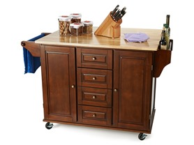 Austin Kitchen Cart - Espresso