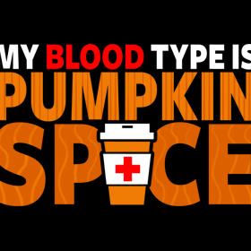 Pumpkin Spice Positive