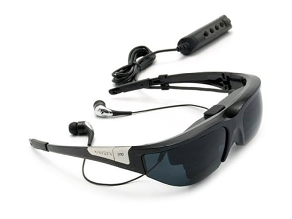 f149a1e14 Vuzix Wrap 310XL Video Eyewear with Adapter for Apple Devices