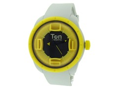 Ten Beats 3H Grey / Yellow Watch
