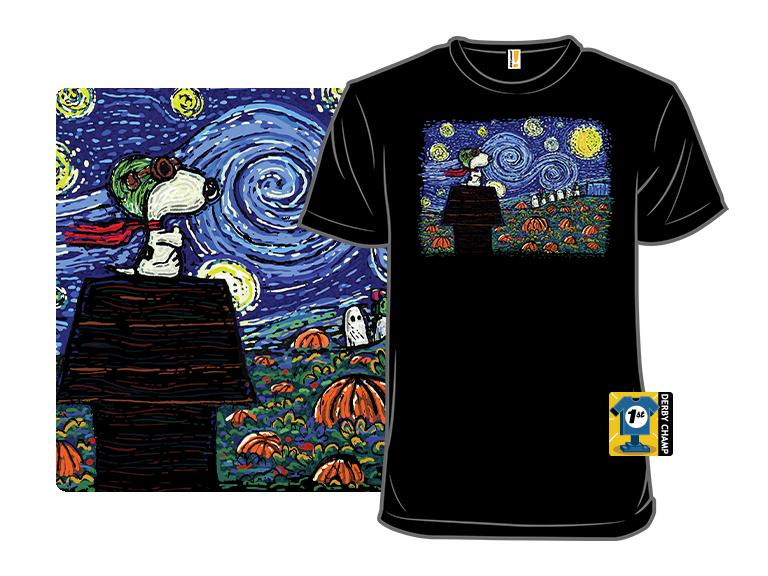 Starry Great Pumpkin Night