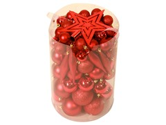 Red 100 pc Ornament Kit
