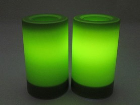 Flameless Candles with Timers, 2-Pack