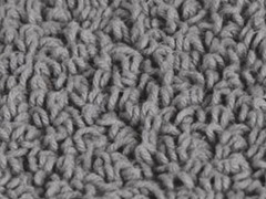Reversible Cotton Rug -Steel