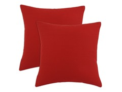 Duck Red 17x17 Pillows-S/2