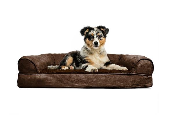 Furhaven Plush Sofa Pet Beds Your Choice