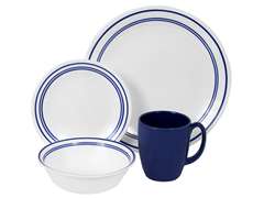 Livingware Classic Café Blue 16pc Set