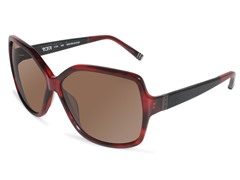 Tumi Polarized Stari Sunglasses, Red