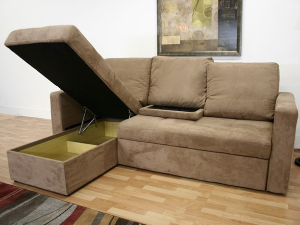 Linden Convertible Sectional Sofa Bed
