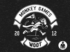 2012 Woot Monkey Games LW Hoodie