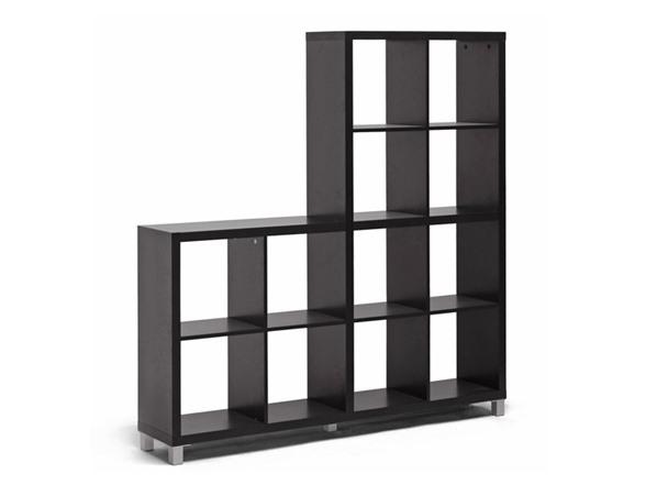 Sunna cube shelving unit for Black box container studios