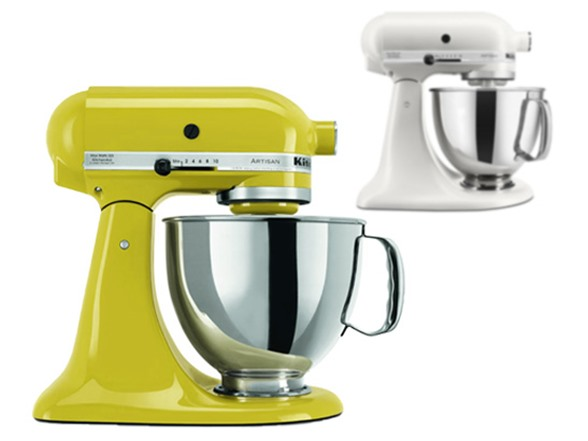 KitchenAid Artisan 5 Quart Stand Mixer 2 Colors
