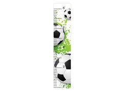 Peel & Stick Growth Chart - Soccer