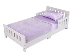 Charleston Toddler Bed- White