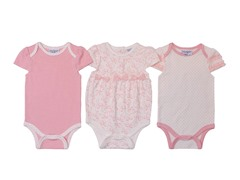 Cream Tiny Dancer Bodysuit 3Pk (0-9M)