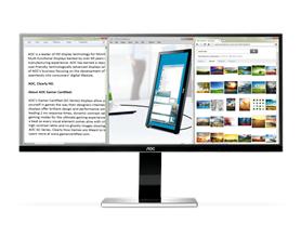 "AOC 34"" UltraWide IPS LED-backlit Monitor"