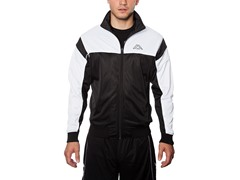 Kappa DDU Track Jacket - Black/White
