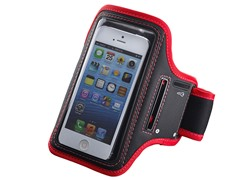 Sports Armband - Red/Black